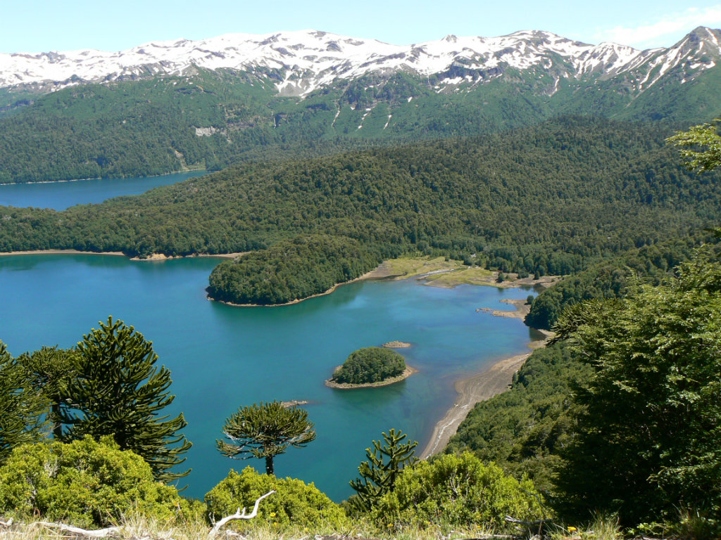 Lake Land Chile